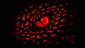 the eye. red version by hiropon056