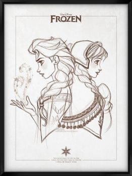 Walt Disney's Signature Collection - FROZEN by davidkawena