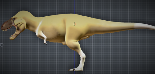 T. rex colour scheme W.I.P. by Sainte-Vincient