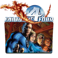 Fantastic Four Comics Folder Icon by WanderlustSailor