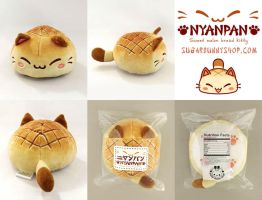 Nyanpan Cat Plush by celesse