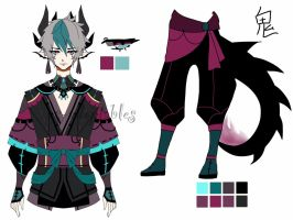 Dragon oni adoptable Closed by AS-Adoptables
