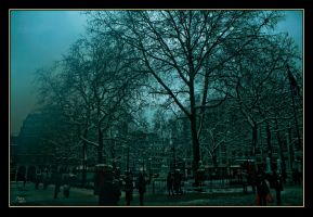 Leicester Square..winter 1 by tariq12
