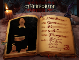 Otherworlde App - Alice Emine - Y3 by YaggyDigital