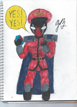 Deadpool's reaction to the new Deadpool game by TheZackBurg