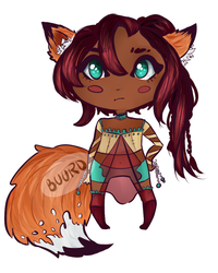 SOLD || Kitsune by BuurdAdopts