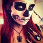 Skeleton Girl by itashleys-makeup