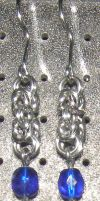 Chainmaille Earring 79 by Des804