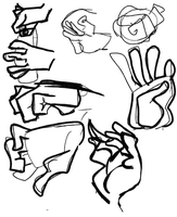 Hand gestures by Calli-pi-zho