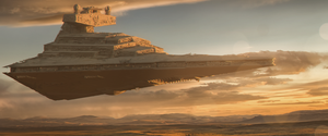 Star Wars - Star Destroyer B by BB22Andy