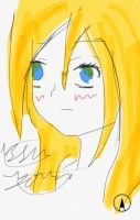 Christa type girl by epicbubble7