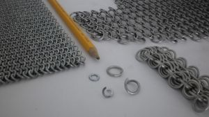 The basics of chain mail rings by Gruntoks