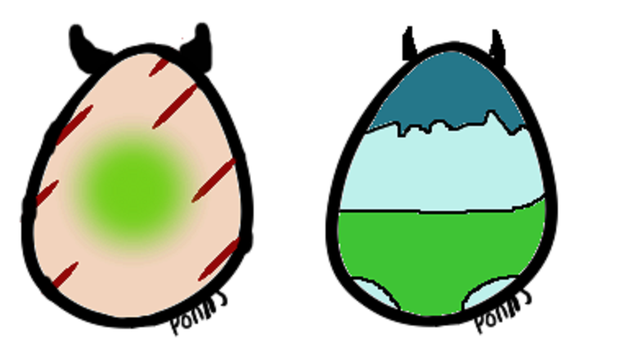 Offer Jinni (closed species) egg adopts 1 by Iloveyaoi4ever