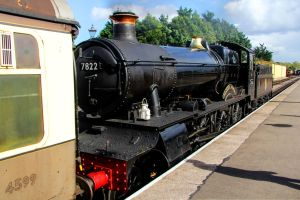 GWR Manor Class 7822 Foxcote Manor by Daniel-Wales-Images