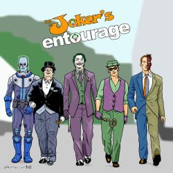 The Joker's Entourage by pjperez