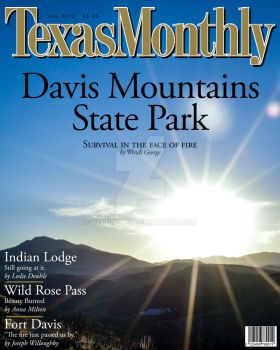 Texas Monthly Magazine Cover by KriticKilled