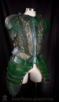 Elven Cuirass by Azmal
