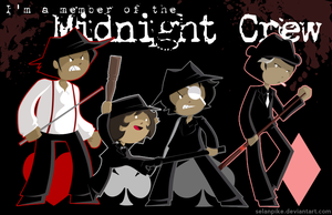 I'm a member of the Midnight Crew by SelanPike