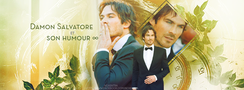 Damon Salvatore et son humour by N0xentra