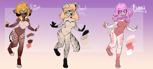 BATCH OF BABES open 2/3(SALE!!) by cat-tus
