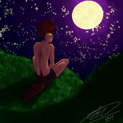 Little Red Wolf by Nepeta132