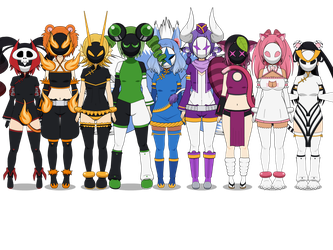 Masked Adopts Revealed FULL by TGDJ