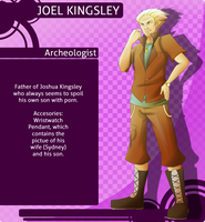MM: Joel Kingsley by witch-girl-pilar