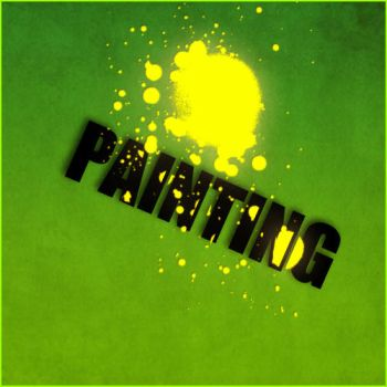 Text Art 'Painting' by Nes-Production