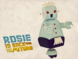 Rosie is back from the Future by HunterDog