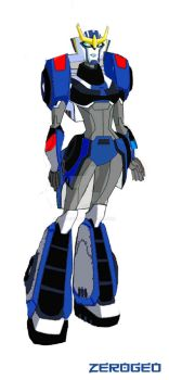 Transformers Animated: Strongarm (RID 2015) by ZER0GEO