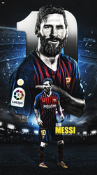 lionel Messi wallpaper mobile phone 2018|17 by 10mohamedmahmoud