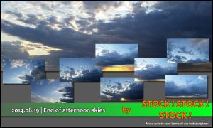 2014.08.19 | End of afternoon skies by Stock-Stock-Stock