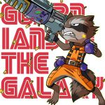 Guardians of The Galaxy: Rocket Raccoon by Evelynism