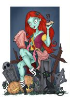 Sally Pinup by TLSeely