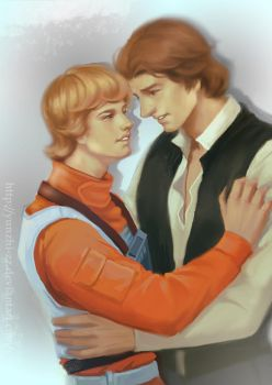 Han and Luke by yunzhi-zz
