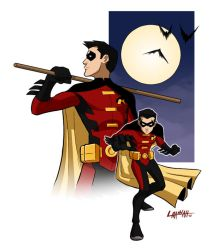 Robin, Young Justice Style by stratosmacca