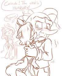 The Child is Hungry by KissTheThunder