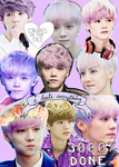 Purplecollage by J-Kookie