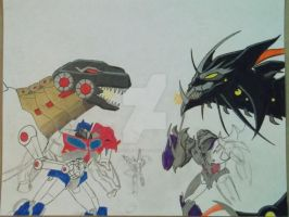 Transformers Prime Beast Hunters by reclaimerart