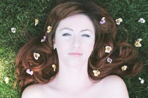 Posies In Your Hair...2 by O---girlinred---O