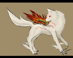 Amaterasu by Aerolyx