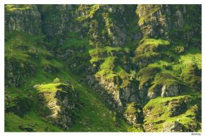 Scotland Cliffs by Bueshang