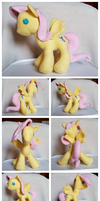 Fluttershy Plush by Kimmorz
