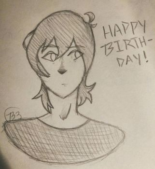 Keith's Birthday by CheeblieZexal