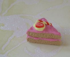 Sweet strawberry cake... by PORGEcreations