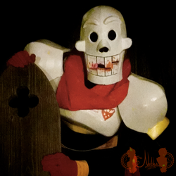 [Cosplay] Horror!Papyrus :Halloween 2016: by NobleTanu