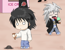 C.O+Chibis: oh noes D: by The-PirateQueen