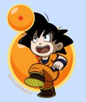Goku by strawberryquiche