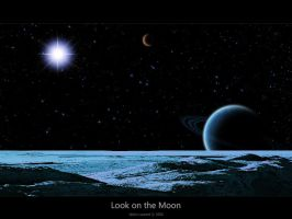 Look on the moon by Lucifer4671