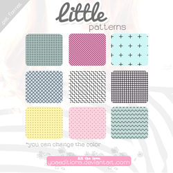 Little Patterns   Motivos para PS by yoaeditions